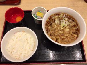 朝食納豆セット